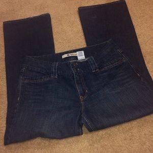 Gap Curvy Bootcut Ankle Jeans